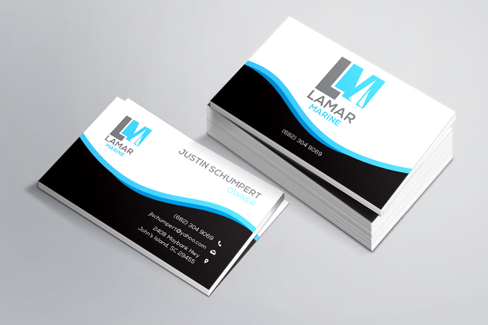 Portfolio graphic design web design branding marketing business card design for lamar marine colourmoves